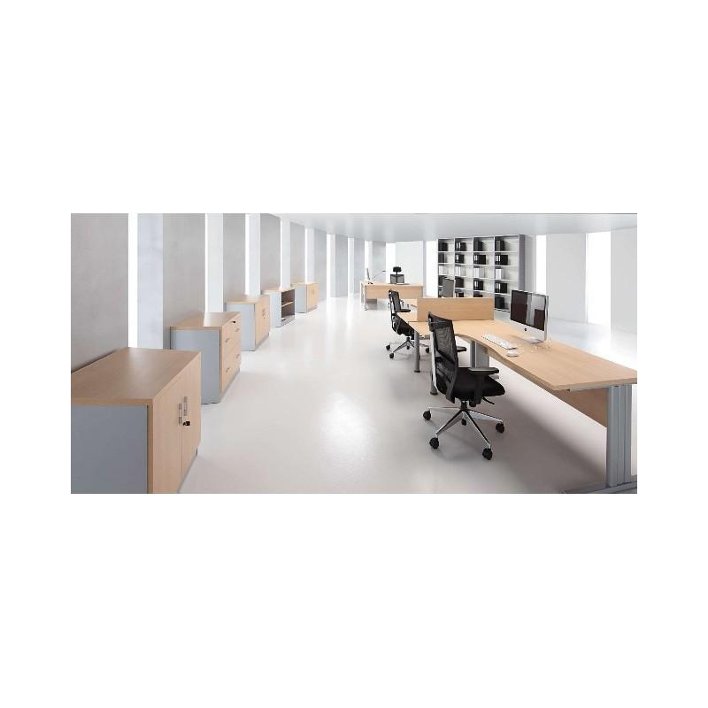 Armario sin puertas for Muebles oficina economicos